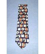 Disney Store Tigger Golf Tie 100% Silk Necktie - $9.99