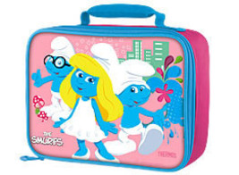 SMURFS LUNCHBOX-includes smurfs water bottle - $13.18