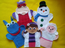 Doc Mc Stuffins Puppets - $30.00