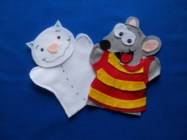 Toopy and Binoo Felt Puppets - $12.99