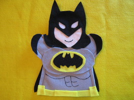 Batman Felt Puppet - $6.99