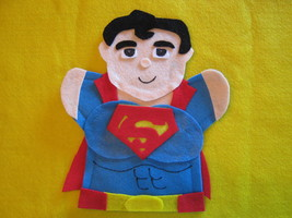 Superman Felt hand Puppet - $6.99