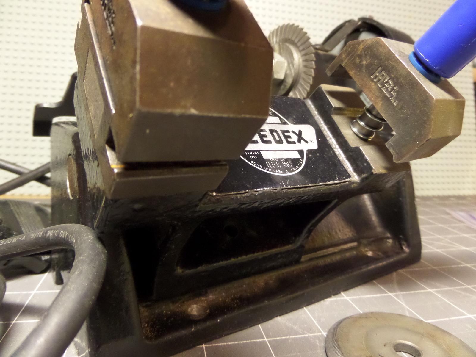 hpc key machine parts