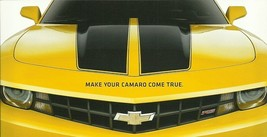 2010 Chevrolet CAMARO SYNERGY DUSK CHROMA Concepts sales brochure SEMA - $8.00