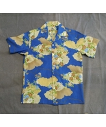 Retro Hawaiian Shirt - By Pacifica - Men's Size Medium - Floral Pattern - $49.00