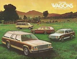 1979 Ford WAGONS brochure catalog US 79 FAIRMONT PINTO COUNTRY SQUIRE CLUB - $8.00