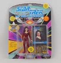 "Counselor Deanna Troi 5"" Playmates Star Trek Action Figure - Original Box - 1993 - $10.00"