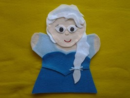 Frozen Ice Princess Elsa hand Puppet - $6.99