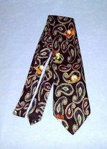 Paws Addiction Garfield Odie Paisley Tie Polyester Necktie - $9.99
