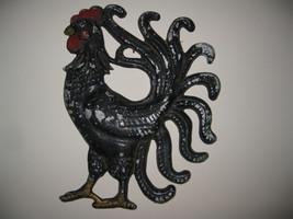 Cast Metal (Aluminum?) Rooster/Chicken Vintage ... - $39.60