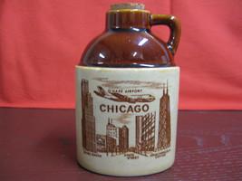 Chicago Mini-Souvenir Jug O'Hare Airport Sears Tower State Street John H... - $14.85