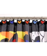 Romero Britto Shower Curtain Hooks - New Day Design  - Set of 12 -  NEW ... - $23.01