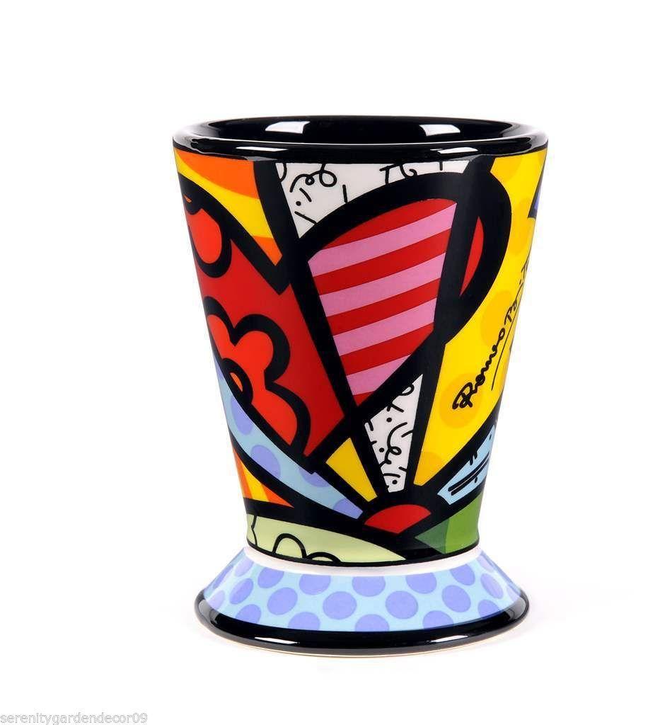 Romero Britto Ceramic -  A New Day Design  - 9 oz Mug Cup  #333026