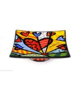 Romero Britto Ceramic -  A New Day Design  - Soap Dish #333023 - $18.49