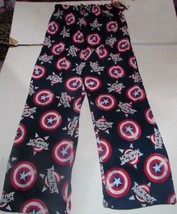 Mens Captain America Sleep Pants SZ Medium Lounge Pants Marvel Comics NEW - $19.99