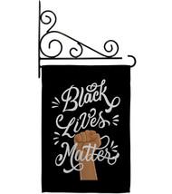 Black Lives Matter Stop Racism - Impressions Decorative Metal Fansy Wall Bracket - $29.97