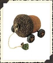 """Boyds Pull Toy -""""Oak Express"""" Acorn Tug Along #654245 -2002 - NIB- Retired - $19.99"""