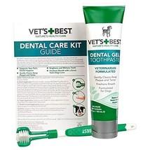 Vet's Best Complete Enzymatic Dental Care Gel & Toothbrush Kit for Dogs - $11.54