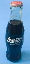 Vtg Coca Cola Classic Glass Soda Bottle Orlando World Cup 1994 Full Pop Coke - $16.82