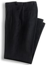 John Blair Men's Adjust A Band Dress Pants Black 42 M - $13.86