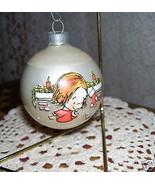 Hallmark Glass Ball Ornament 1976 Marty Links  Rare - $32.73