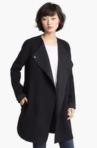 $675+NEW VINCE Wool Bland Black/Charcoal Gray Coat Sz M - $350.00