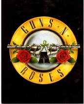 Guns N' Roses Logo Rock Vintage 11X14 Color Music Memorabilia Photo - $13.95
