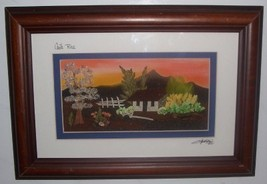 2001 RAFAEL RODRIGUEZ CAMPOS COSTA RICA MIXED MEDIA ART - $133.49