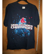Baseball MLB Boy Clothes Large Boston Red Sox Youth 2007 Champs Base Bal... - $14.24
