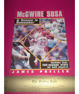 Major League Baseball Picture Book Read McGwire & Sosa Paperback Story M... - $5.69