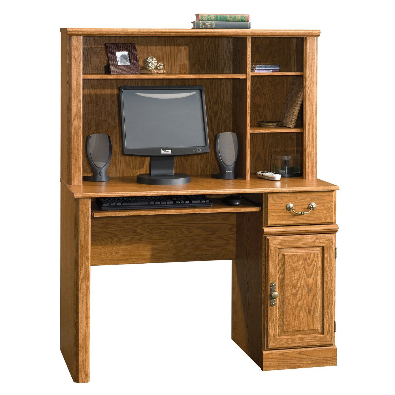 57 Sauder Orchard Hills Computer Desk Table Hutch Drawer