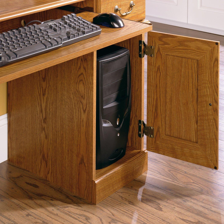 Hills Computer Desk Table w Hutch Drawer Home Office Furniture - Desks