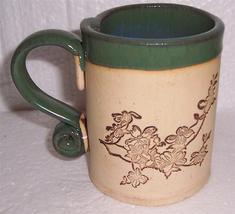 "2002 ""May The Road Rise To Meet You"" Handmade Large Ceramic Mug by Ragan - $40.81"