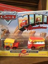 VW Disney Cars Mini Adventure Sarge & Fillmore MOC - $8.55