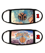 New York Knicks NY Face Mask with black string reusable washable #3 - $14.54+