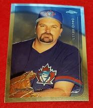 DAVID WELLS (125 Card Lot) - 1999 Topps Chrome Traded #T78 Blue Jays - $19.95