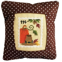 November 11 cent Special Delivery Postage Stamp pillow cross stitch kit Pine Mtn - $16.20