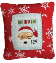 December 12 cent Special Delivery Postage Stamp pillow cross stitch kit Pine Mtn - $16.20