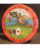 "$5.00 Casino Chip From: ""The Carson Valley Inn"" - (sku#2850) - $3.89"