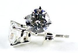 SE012, CZ Cubic Zirconia, 925 Sterling Silver Post Earrings - $32.04