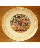 Vintage Souvenir Plate New Mexico Native American Indians - $7.95