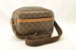 LOUIS VUITTON Monogram Reporter PM Shoulder Bag M45254 LV Auth 10513 **TEAR - $280.00