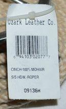 Ozark Saddle King Texas 09134M Roper Style Mohair Girth Cream Color image 4