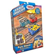 Fisher Price Thomas and Friends Trackmaster - Rail Repair Cargo & Cars - $28.99