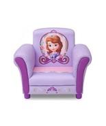 Disney SOPHIA THE FIRST Upholstered Girls Kids Club Arm CHAIR Purple Princess - $103.94