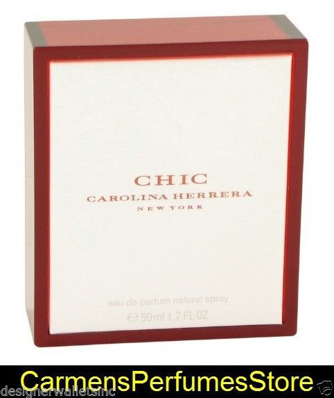CHIC For Women 1.7 Fl Ounce EDP SPRAY by Carolina Herrera new