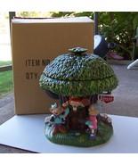 Keebler Ernie Elf Hollow Tree 3-D Advertising C... - $107.91