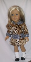 """American Girl-Animal Print Dress including BOOTS -fits Am girl/18"""" dolls... - $22.27"""