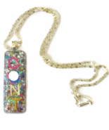 mature c*nt silver rainbow glitter opal charm p... - $24.99