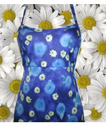 1990s vintage grunge ombre blue floral maxi slip dress size extra small ... - $59.99